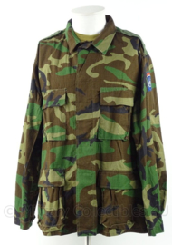 KM Marine Korps Mariniers  woodland uniform jas BDU UN VN United Nations - Topstaat - maat Large-regular - origineel