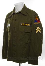Elvis Presley Overhemd met replica insignes - maat Large - origineel overhemd