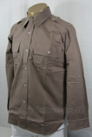 Officer pink blouse replica wo2 officiers overhemd Pink kleur - size 40 tm. 46