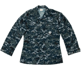 US Navy NWU 1 Blue digital Navy Digital Camo BDU Field jacket - origineel