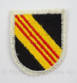 US Army Special Forces baret insigne 5th SFGA flash patch - afmeting 4,5 x 6 cm - origineel