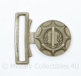 Korps Gemeentepolitie koppelslot metaal - 5,5 x 5,5 cm - origineel