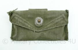 Korps Mariniers Webbing groene verband tas -vorig model - US model -15x8x1 cm origineel