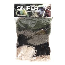 Complete Sniper kit - voor camoufleren Sniper suit