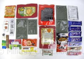 Zweedse leger 24uurs rantsoen Maaltijd zak 24 Hour Meals 4 maaltijden Swedish Army 4900 kcal - verschillende menu's! - houdbaar tot 7-2020