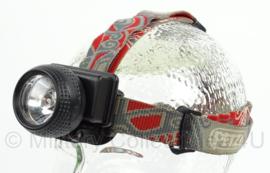 KL Landmacht hoofdlamp/helmlamp - PETZL - werkend - origineel