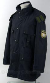 Duitse Polizei Bayern moderne parka met voering en capuchon - maat H44/46 - zeldzaam - origineel
