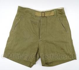Afrikakorps Korte broek - DAK Deutsches Afrika Korps Shorts - origineel WO2 Duits