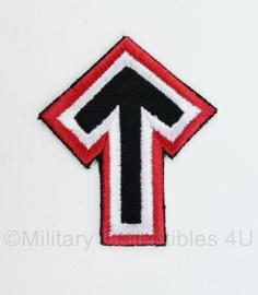 WO2 Duits TYR embleem - 7 x 6 cm