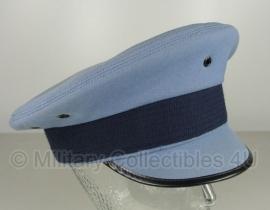 Luchtmacht platte pet lichtblauw - maat 55 - zonder insigne - origineel