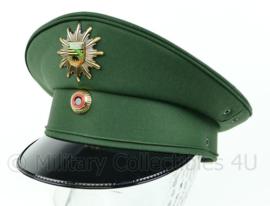 Duitse politie pet met insigne Polizei Sachsen-Anhalt - groen - nieuwstaat - maat 52 tm. 59,5 - origineel