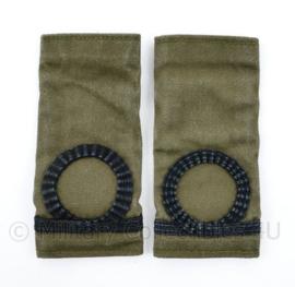 Korps Mariniers GVT epauletten paar -  Adjudant der Mariniers - 11 x 5 cm - origineel