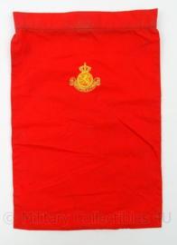 KL Landmacht rode halsdoek - afmeting 35 x 23,5 cm - origineel
