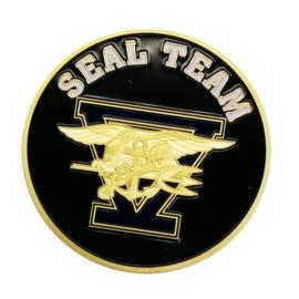 USN US Navy Seal Team coin - 40 mm diameter