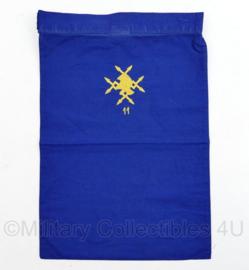 Nederlands leger halsdoek 11 Verbindingsbataljon - blauw - origineel