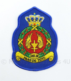 KLU Luchtmacht RNLAF DELM embleem Depot Elektronisch Luchtmacht Materieel - 11,5 x 8 cm - origineel