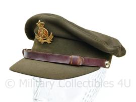 Nederlands leger DT pet 1962 onderofficier - zweetband deels los - J.P. MOL BV -  maat  54 - origineel