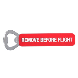 Flesopener met 3D PVC grip - Remove Before Flight
