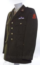 """KL Koninklijke Landmacht DT uniform jasje """"Genie"""" met parawing - 1980 - maat 51 - origineel"""