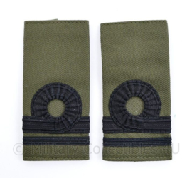 Korps Mariniers GVT epauletten - Luitenant der Mariniers - 11  x 5 cm - origineel