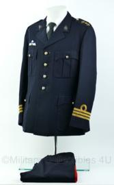 Korps Mariniers Barathea set - rang Luitenant-Kolonel - Maat 50K -  Origineel