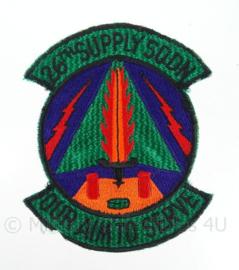 "US air force USAF embleem ""26th supply squadron"" - origineel"