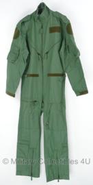 KLU Luchtmacht piloten overall groen - ongebruikt - maat 6070/8595 - origineel
