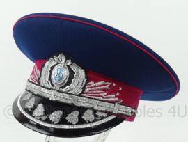 Oekrainse Politie MVS generaals pet Ukraine Police MVS Generals blue visor hat - maat 58 - origineel