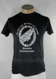 T shirt Fallschirmjäger - zwart - alleen nog 3xl