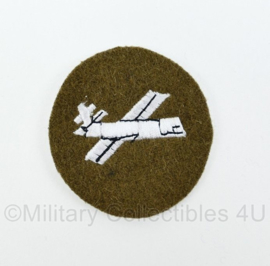 WO2 Britse leger Glider Troops Sleeve patch embleem - diameter 6 cm