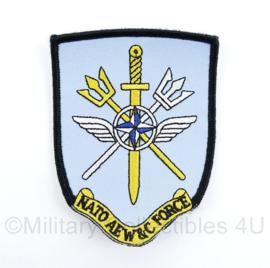 KLu Luchtmacht Nato AEW & C Force NATO Airborne Early Warning & Control Force  - met klittenband - 10,5 x 8 cm - origineel