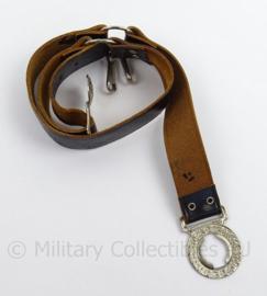 US Boy Scout koppel met zilverkleurig slot - Be Prepared - lengte 80 cm - origineel