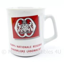Korps Nationale Reserve Koninklijke Landmacht beker - 9 x 8 cm - origineel