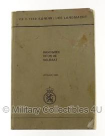 KL Nederlands leger handboek voor de soldaat 1985 VS 2-1350 - origineel