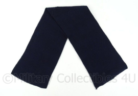 KM Marine sjaal donkerblauw - afmeting 98 x 20 cm - origineel