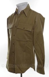 US WO2 officiers overhemd - lange mouw - maat S- origineel