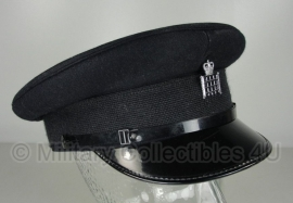 Britse politie heren platte pet - Waterguard of Customs Douane - maat 57, 58 of 59 - origineel