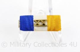 Nederlandse leger medaille baton 10 jaar langdurige dienst als officier - 3 x 1 cm - origineel