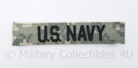 Zeldzaam US Navy branch tape in Acu Camo - origineel