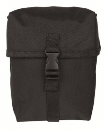 Koppeltas multi purpose Medium - Molle draagsysteem - 16 x 9 x 18  cm - Zwart