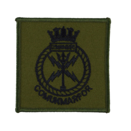 COMUKMARFOR Commander United Kingdom Maritime Forces Formations Badge for the Royal Navy - 7 x 7 cm. - origineel