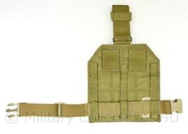 US Army en Defensie leg platform Coyote - maker Eagle USA -  NIEUW - 36 x 22 cm - origineel