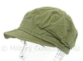 WO2 US Army HBT cap - maat 59 - origineel WO2