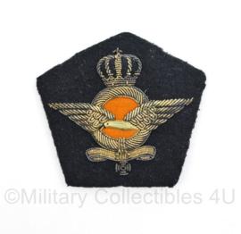 Klu Luchtmacht embleem voor GLT Gala tenue pet - 8 x 7 cm - origineel