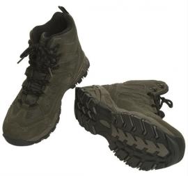 Squad boots halfhoog Groen