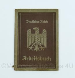 Wo2 Duits Arbeitsbuch uit 1935 - origineel