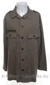 KLU Luchtmacht uniform jasje - grijs - lange mouw - maat 51/53, 50/52 of 54/56 - origineel