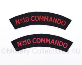No. 10 Commando straatnamen paar