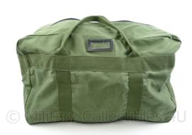Klu Luchtmacht Pilot kit bag Prachute bag groen canvas - 40 x 60 x 30 cm - nieuw - origineel