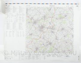 Duitse militaire stafkaart C3905 Gronau Westfalen - 1 : 100.000 - 74 x 56 cm - origineel